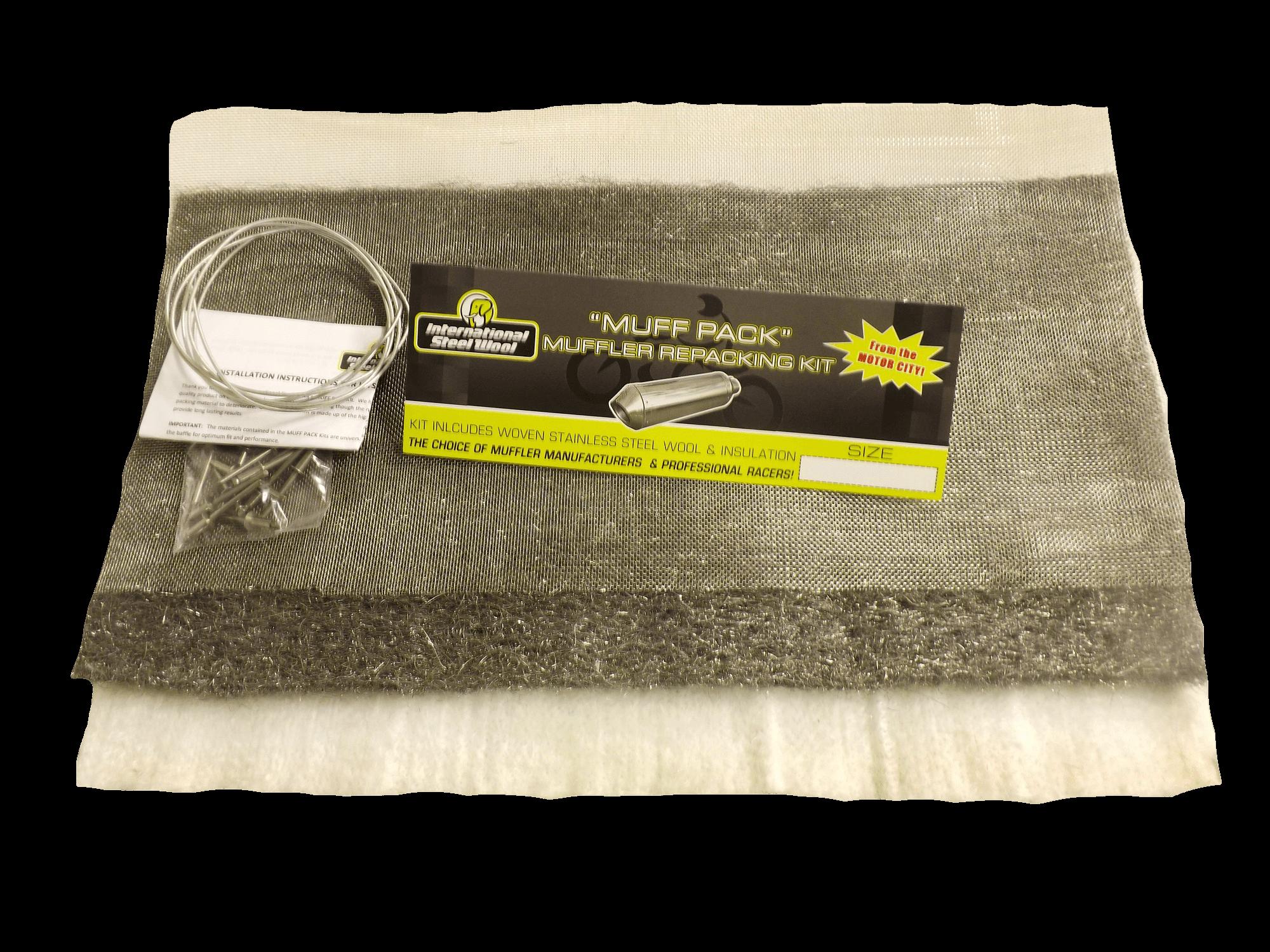 Muffler packing for Steel wool insulation