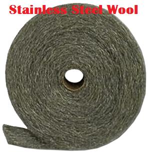 Stainless roll 2 international steel wool inc for Steel wool insulation